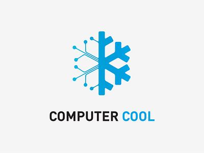 Computer Cool Logo logo identity branding mark