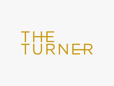The Turner logo identity branding