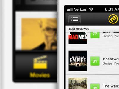 MC v2 gray black yellow green iphone app helvetica neue helveticons