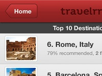 Travelerr - Top 10 Destinations