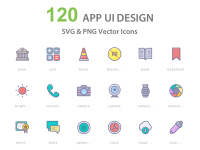 App UI Icons