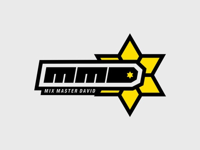 Mix Master David Logo Design