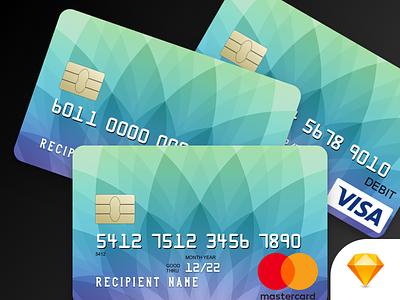 Mastercard, Visa, and Discover Credit Cards