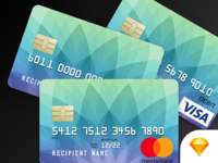 Mastercard, Visa, and Discover Credit Cards