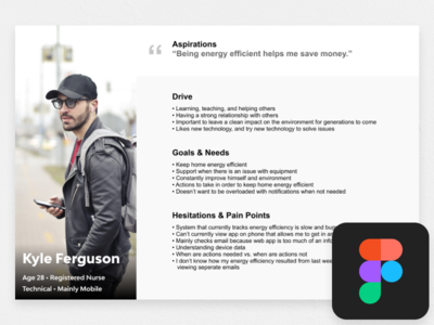 Personas - Figma Free Download ux designer ui  ux design uidesign uikit user user experience ux design researcher research ux  ui ux persona personas