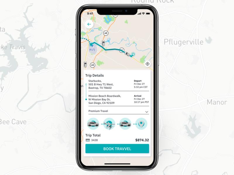 Travvel - Booking travelling travel app traveling travel user experience mobile ui mobile app design iphone x ios ui design ux design ui ux