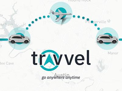 travvel anytime uxui graphic navigation location gps vehicles planes cars blue logo iphone mobile ui mobile app design iphone x ui design ios ux design ui ux
