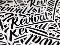 Revival Stickers