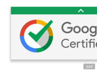 Google Certified Larger PSD