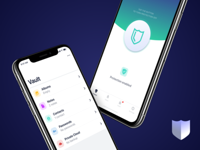 Security Mobile App Design