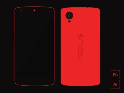 Freebie - Nexus 5 Red Edition