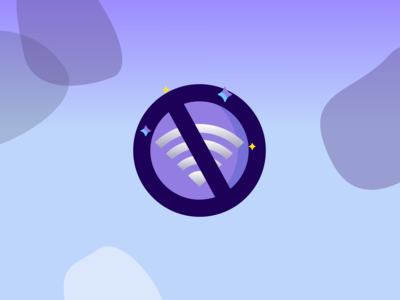 Icon Design for No Internet Connection