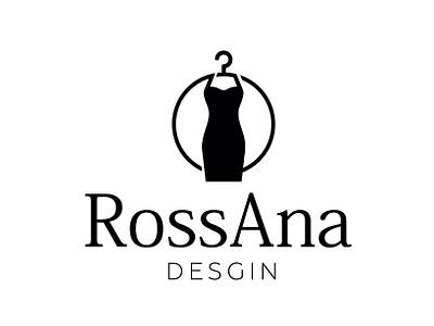 logo for clothes designer logo design logotype dress clothing brand clothes flat logo brand design illustrator graphic design vector branding design branding