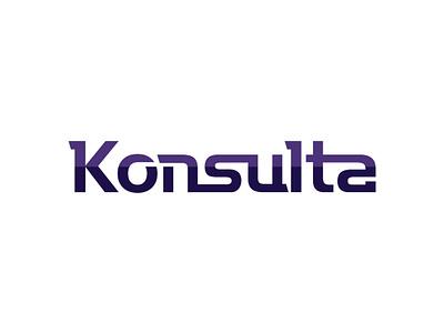 Consulting company logo minimalistic purple logo design concept design illustrator graphic design vector brand brand design branding logo text logo lettering