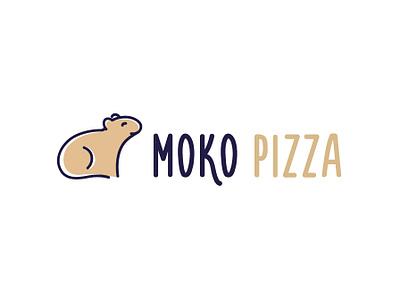 moko pizza design graphic design vector branding design brand identity pizzeria pizza logo pizza moko logo logodesign brand design brand branding