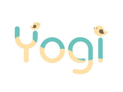 Yogi birds concept brand design illustrator graphic design vector logo design yogi yoga logos logotype logodesign logo branding