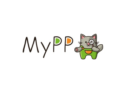 My App design search cart logo design graphic design mascot character vector logo app brand design branding logo app