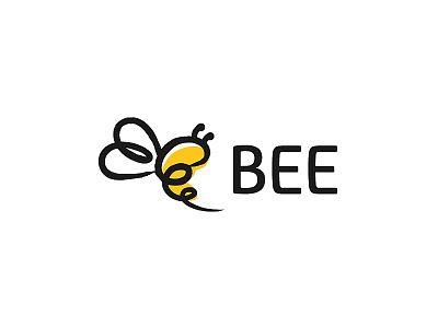 bee logo branding studio logo design branding agency brand identity brand design brand logotype yellow logo yellow logo bee bee logos branding logo
