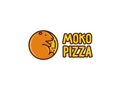 moko pizza logotype branding design branding agency branding brand design brand agency logos logo design logodesign pizza logo pizza moko logo