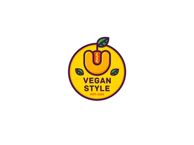 Vegan Style 2 logofactory brand design logo designs logos brand brand identity branding concept branding design branding agency branding new logo logo design logo