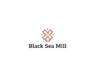 Black Sea Mill black sea mill branding and identity logofactory brand identity logotype branding identity branding design brand logos logo design brand design branding agency branding logo