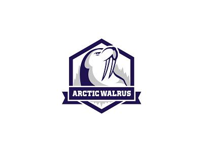Logo for IT company logofactory blue logo blue walrus it logo it company it brand identity logodesign branding design logo design brand design branding brand logos logo