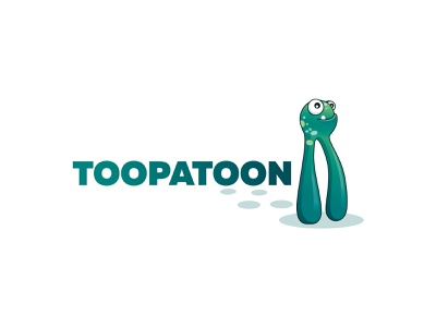 ToopaToon logotype branding agency branding design logo design brand design branding brand logos logo character design character monster logo monster kids logo
