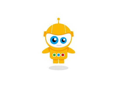 Yellow Robot branding design logo design branding logo designer design vector brand design graphic design branding brand design logo order logo logo design character logo