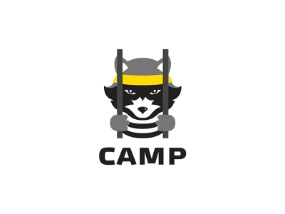 Camp Raccoon logo design branding logo designer logos brand identity branding design logo design graphic design brand branding brand design logo raccoon camp