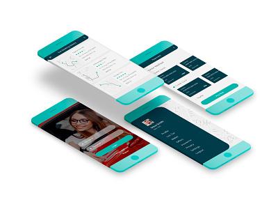 Mobile App for Taxi Service uidesign ui design ui  ux ui taxi taxi app application app design mobile app design mobile design mobile app mobile ui mobile