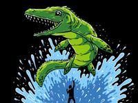 Free Mosasaurus!