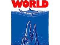 'Jawrassic World' T-Shirt Design