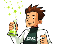 Scientist Illustration