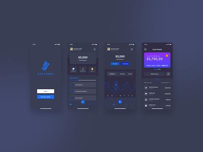 Banking App dark mode concept brand bank app application app mobile app dark ui banking dashboard banking website banking app banking bankingapp
