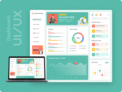 E-Learning Dashboard / Admin panel concept dashboard template dashboard ui kit dashboard design dashboard app dashboard ui dashboad dashboard ux  ui ux ui design uxdesign ux ui uxui ux ui design ui  ux uiux learning school uidesign ui