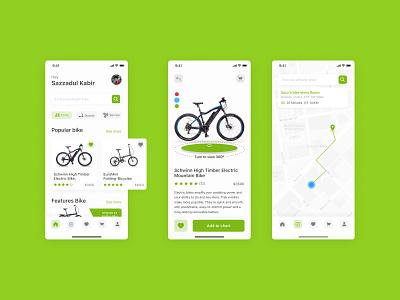Bike Store app design bike ride tamplate uxdesign ux uidesign appstore bike store bike buy biking uiux ecommerce apps ui ui