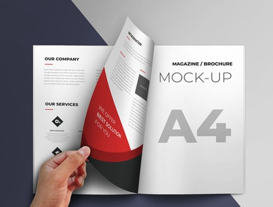 Brochure mockup branding identity design brand smart object brochure template a4 brochure mockup brochure template brochure design mockup brochure mockup