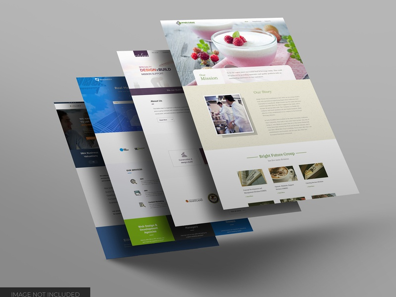 Website showcase mockup smart object identity high resolution website desktop desktop mockup mockup
