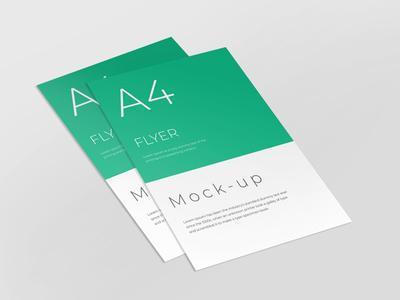 A4 flyer mockup flyer design smart object identity high resolution brand a4 a4 flyer flyer mockup mockup flyer