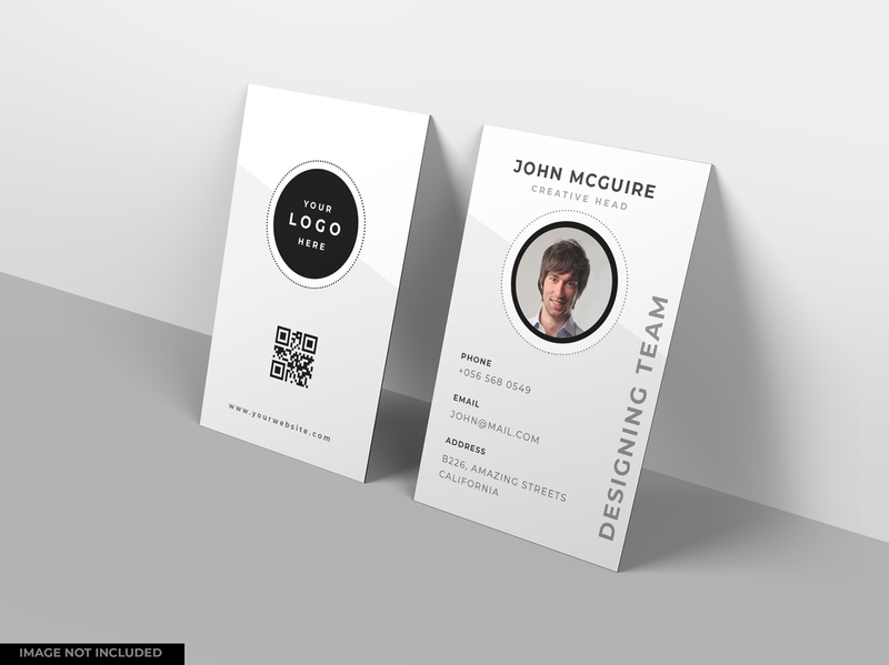 Business card mockup design smart object identity high resolution brand mockup visiting card business card