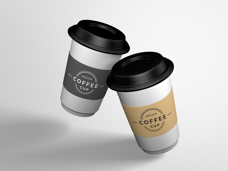 Coffee cup mockup design smart object identity high resolution brand coffee cup cup mockup