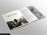 Square brochure mockup design modern smart object identity high resolution brand brochure magazine magazine mockup mockup