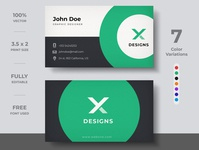 Minimal Business Card Design design business card template template modern branding identity visiting card brand business card creative business card design business card