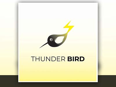 Thunder bird logo high resolution identity brand branding bird logo thunder bird logo logo design logo