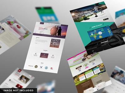 Website mockup website web mockup mockup website mockup