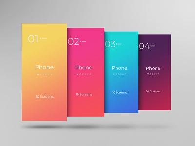 Mobile app screens mockup design smart object identity high resolution brand app app screen mockup mockup app mockup
