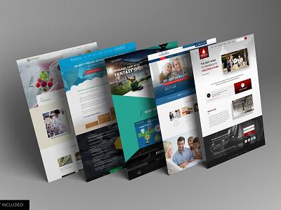 Website mockup design template identity high resolution brand website web mockup mockup website mockup