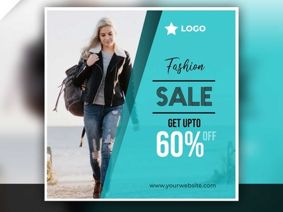Fashion Sale Post Design