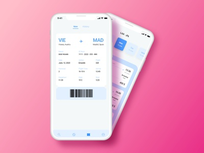 Boarding Pass - UI Design flight app flight booking boarding pass daily ui 024 024 dailyui adobe illustrator ux design ui design design daily ui challenge app adobe xd ux ui
