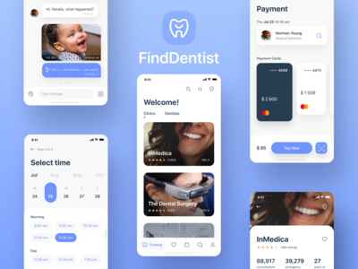 Dentistry app concept
